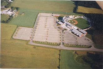 Skylands Stadium - Skylands Stadium from an aerial view.