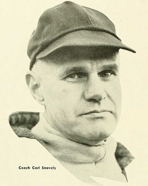 Carl Snavely - Snavely from 1951 Yackety Yack, North Carolina yearbook
