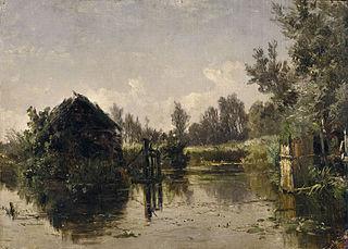 Canal abandonado en Vriesland (Holanda)