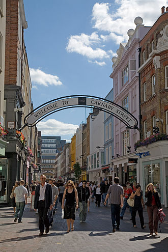 Carnaby Street - Carnaby Street in 2006