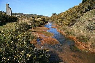 Carnon River river in Cornwall, United Kingdom