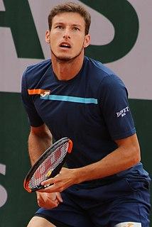 Pablo Carreño Busta Spanish tennis player