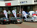 Cars with logo of XXXV Polish Film Festival in Gdynia 2010 during this event.jpg