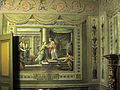 Casa Alegre de Sagrera, Salomó i la reina de Sabà.jpg