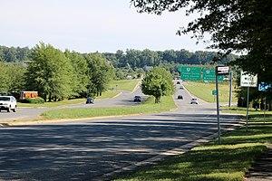 Cascades, Virginia - Image: Cascades Exit