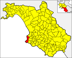 Castellabate – Mapa