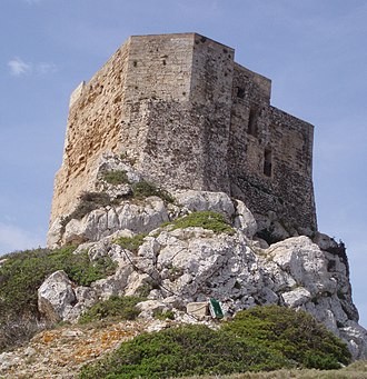 Cabrera Archipelago Maritime-Terrestrial National Park - The Cabrera Castle dates from the 14th century