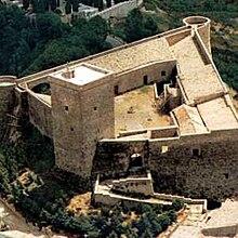 Castello Normanno: vista dall'alto