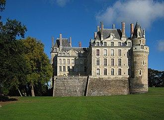 Château de Brissac - South elevation