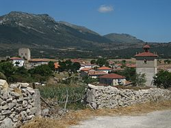 View of Castrobarto, the Junta de Traslaloma head