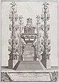 Catafalco Eretto Nella Basilica Vaticana ...per Alessandro VIII MET DP874863.jpg