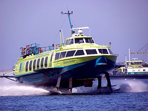 Connexxion - Voskhod hydrofoil in June 2009