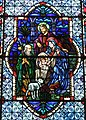 Cathedral Church of Saint Patrick (Charlotte, North Carolina) - stained glass, Nativity of Christ.JPG