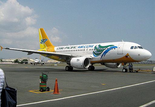 Cebu pacific plane