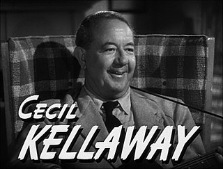 Cecil Kellaway South African actor