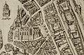 Cellebroedersklooster fragment kaart van Gouda 1585.jpg