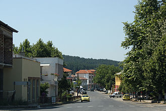 Dzhebel - Central district of Dzhebel
