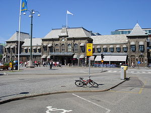 Adolf W. Edelsvärd - Image: Centralstationen goteborg