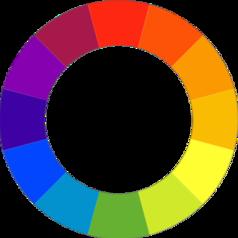 Couleur secondaire wikip dia for Couleur du cercle chromatique