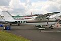 Cessna 172K G-AZLV (6630645029).jpg