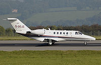 Cessna 525a citationjet cj2 g-ocjz arp.jpg