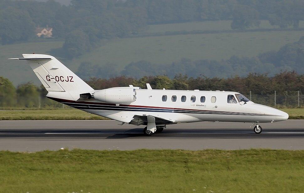 Cessna 525a citationjet cj2 g-ocjz arp