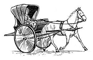 Chaise - A one-horse chaise