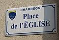 Chambéon - Place de l'Église (plaque).jpg