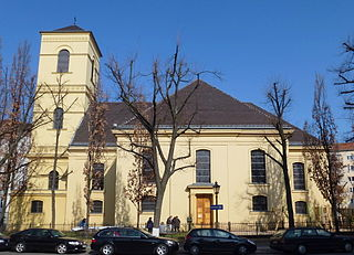 Luisenkirche, Charlottenburg Church in Charlottenburg, Germany