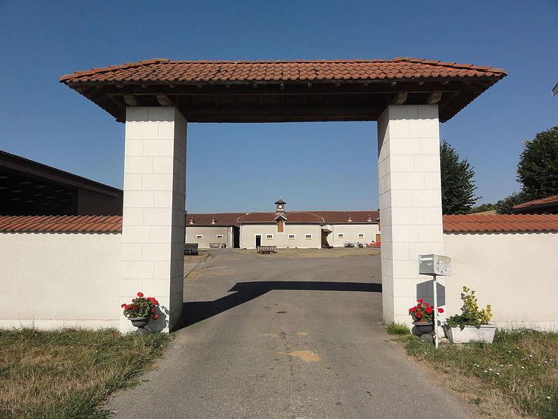 Charny-sur-Meuse (Meuse) ferme de Villers-les-Moines