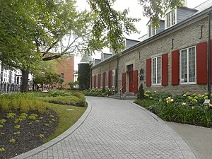 Montreal - Château Ramezay, built in 1705