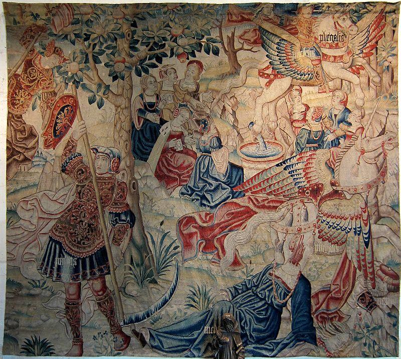 Chaumont ch teaux de la loire - Peut on tapisser sur de la tapisserie ...