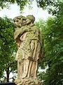 Chełmsko Śląskie, Rynek, figura Świętego Jana Nepomucena - 22 sierpnia 2009 r.r.jpg