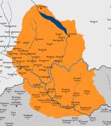 Карта на обчаста Чеч во Пиринска (горе) и Егејска Македонија (долу)