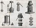 Chemistry; distilling apparatus. Engraving by W. Lowry, 1802 Wellcome V0025462.jpg