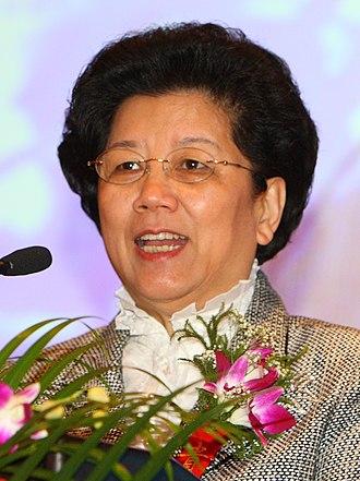 State councillor (China) - Image: Chen Zhili UNDP 2009