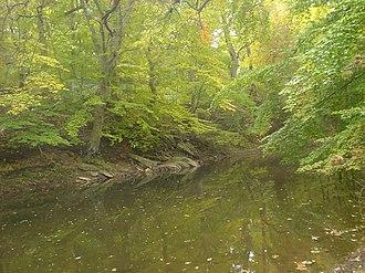 Chester Creek - Chester Creek near Upland, Pennsylvania
