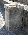 Chiesa di San Panfilo, Tornimparte - seconda stele, fronte, 1.jpg