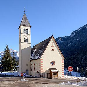 Mazzin - Santa Maria Maddalena church