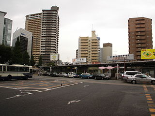 Chikusa Station railway station and metro station in Nagoya, Aichi prefecture, Japan
