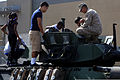 Children attending the 54th Annual Armed Forces Day learn about a light armored vehicle during a military exhibit at Torrance, Calif., May 18, 2013 130518-M-BZ222-001.jpg