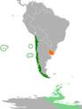 Chile Uruguay Locator.png