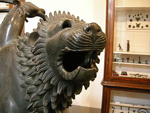 "The so called ""'Chimera of Arezzo"" i..."