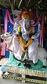Chinalingala Pathuru Dasanjaneya swamy temple lo Ganesh vigraham.jpg
