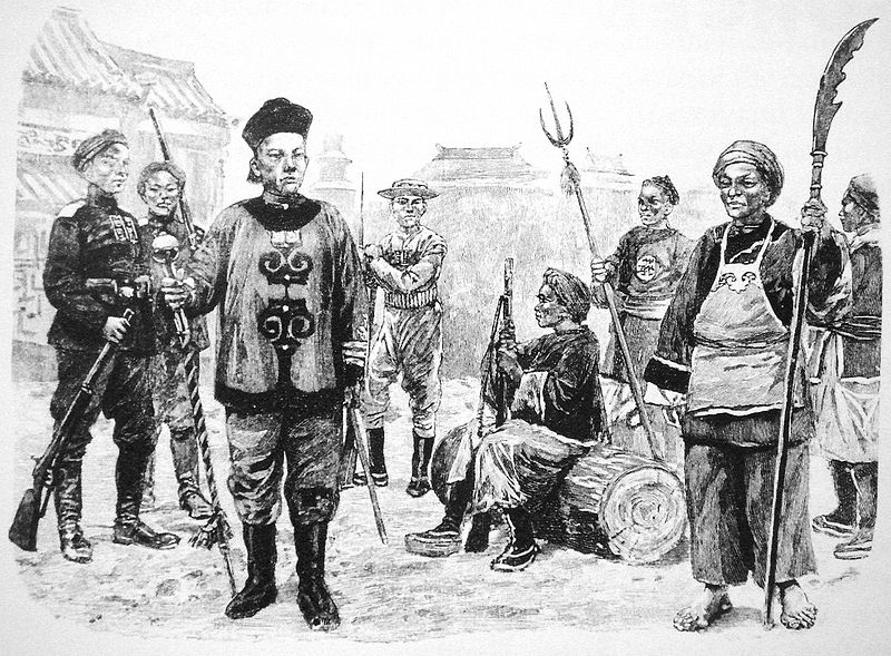 File:Chinese soldiers 1899 1901.jpg