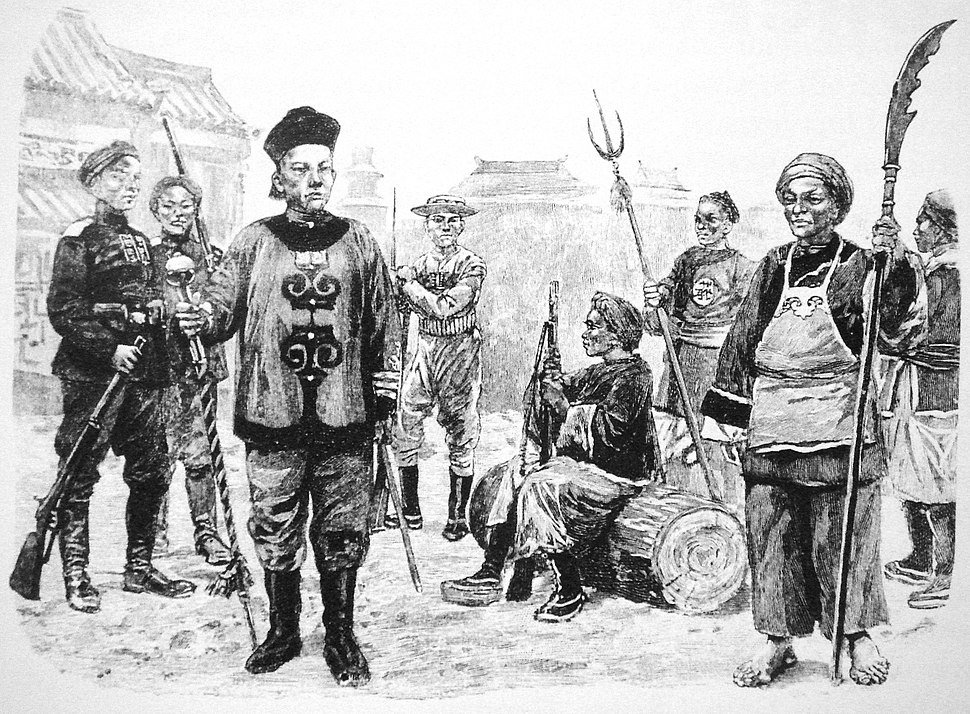 Chinese soldiers 1899 1901