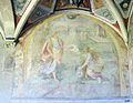 Chiostro grande di smn, lato est 17 giovanni maria butteri, cristo appare alla maddalena in veste di ortolano, 1581-84.JPG