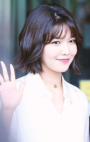 Choi Soo-young - Choi Soo-young going to a Happy Together recording in July 2017