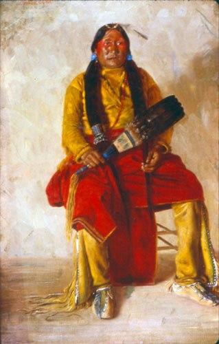 Chosequah- Comanche Indian