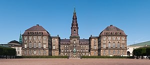 Christiansborg Palace - August 2014
